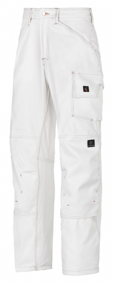 Snickers 3375 Painter's Trousers (White / White)
